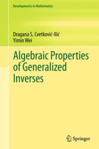 algebraic properties book
